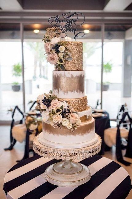 Com que bolo nupcial te casarias? 1