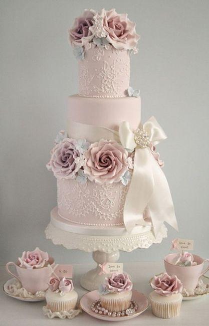 Com que bolo nupcial te casarias? 2