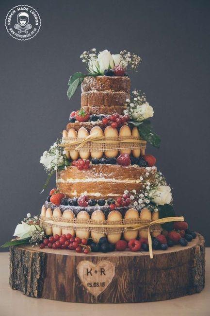 Com que bolo nupcial te casarias? 5
