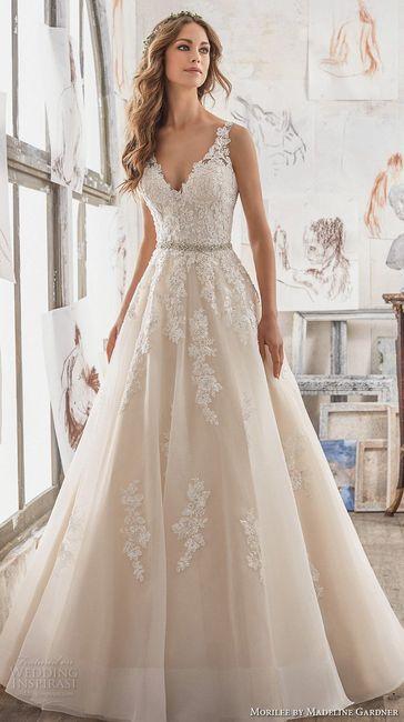 a2553893b13a ¿Qué vestido eliges según tu fecha de matrimonio