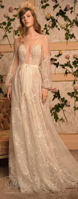 815a08c6c Vestidos románticos no tradicionales