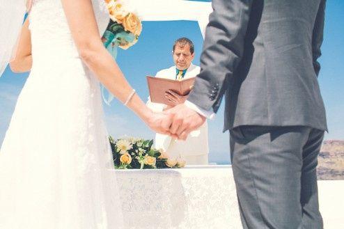 🌍 Matrimonios alrededor del mundo: Santorini (Grecia) 4