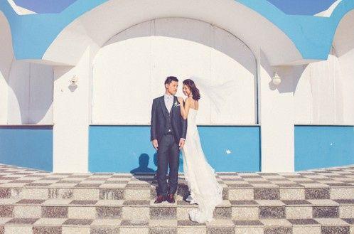🌍 Matrimonios alrededor del mundo: Santorini (Grecia) 6