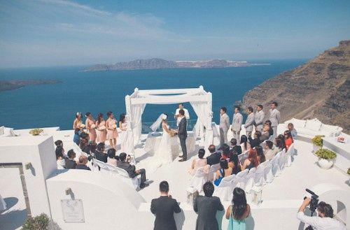 🌍 Matrimonios alrededor del mundo: Santorini (Grecia) 7