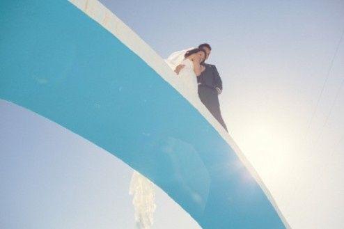 🌍 Matrimonios alrededor del mundo: Santorini (Grecia) 9