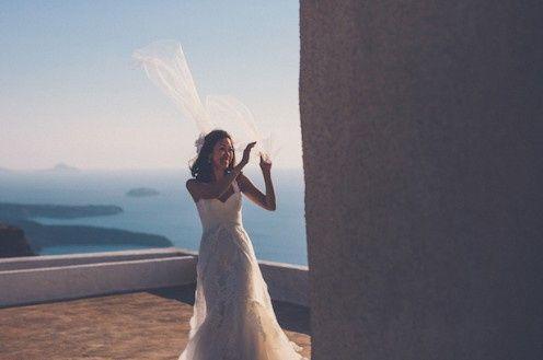 🌍 Matrimonios alrededor del mundo: Santorini (Grecia) 11