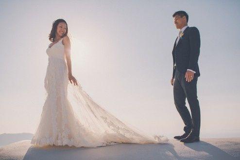 🌍 Matrimonios alrededor del mundo: Santorini (Grecia) 12