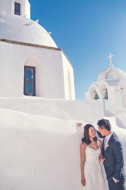 🌍 Matrimonios alrededor del mundo: Santorini (Grecia) 2