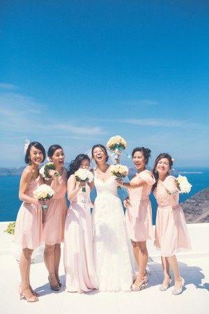 🌍 Matrimonios alrededor del mundo: Santorini (Grecia) 5