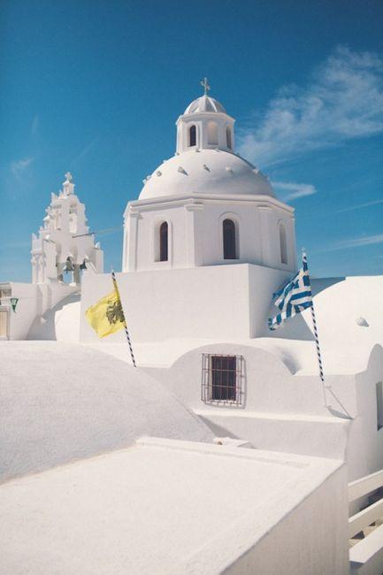 🌍 Matrimonios alrededor del mundo: Santorini (Grecia) 8