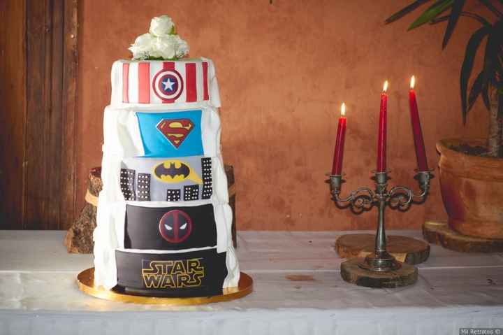 ¿SÍ o NO a esta torta de superhéroes? 1