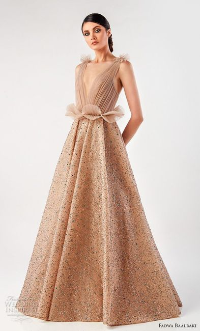 Vestidos color nude: ¿De fiesta o para novias?