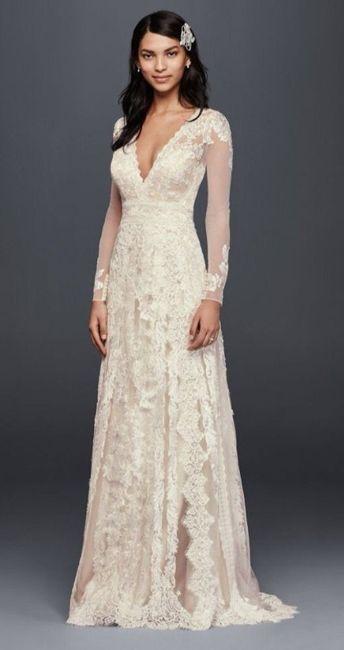 Como sera tu vestido de novia