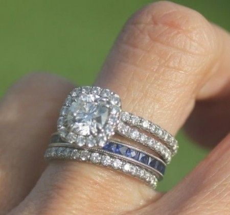 f5839513abb8 Descubre cómo usar el anillo de compromiso y la argolla 1 ...