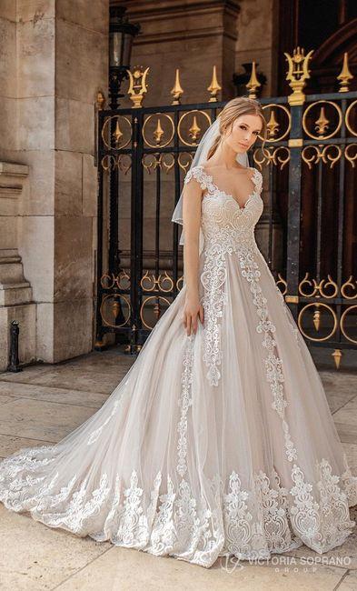a24661235 B. 2019 El vestido de novia  ¿2018 o 2019  2