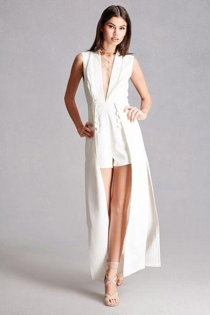 036a9e534d Enteritos short-vestidos para el matrimonio civil. ¿Sí o no  7