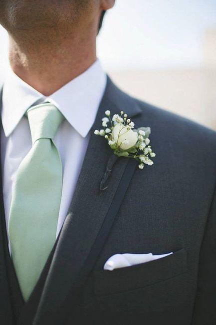 Combinar a gravata com o boutonniere? Claro que sim! 🤵🏽 7