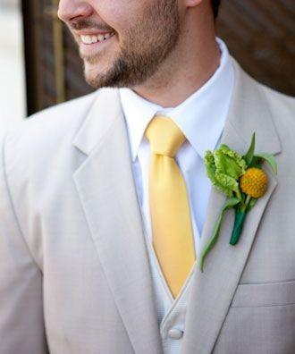 Combinar a gravata com o boutonniere? Claro que sim! 🤵🏽 6