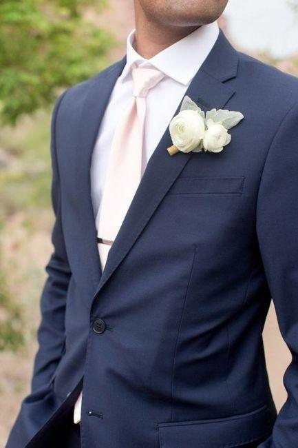 Combinar a gravata com o boutonniere? Claro que sim! 🤵🏽 4