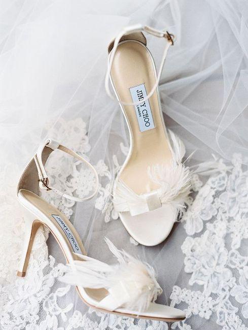 ¿Qué par de zapatos elegirías para tu gran día? 4