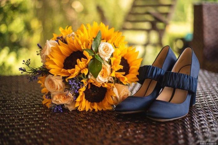 Mi look de novia incluirá los colores _____ 1