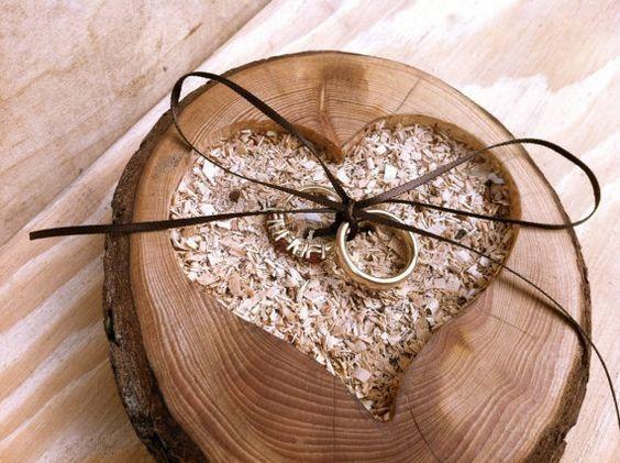 Porta argollas de madera 3