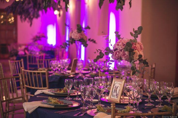 ¿Organizaste las mesas de los invitados? 1