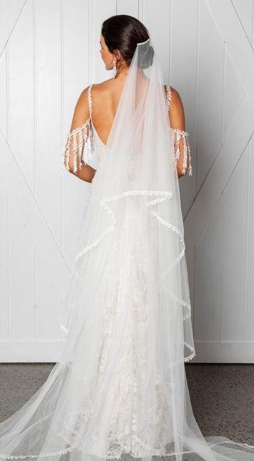 ¡El vestido de mis sueños lo quiero con este velo! 3