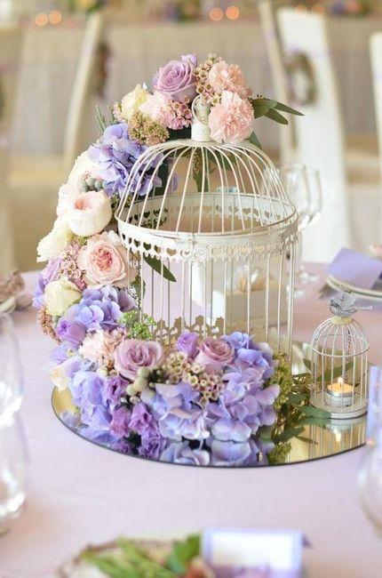 Deco romántica: ¡Elige el centro de mesa! 1
