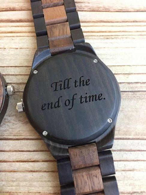 Frase de amor en un reloj: ¿Qué frase le pondrías a tu AMOR? 1