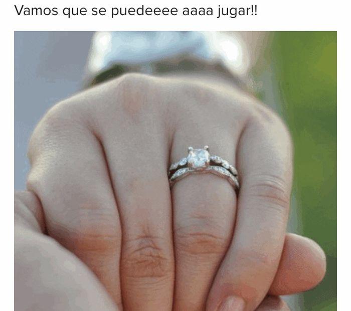 Achúntale al anillo y...¡compártenos el TUYO!💍 1