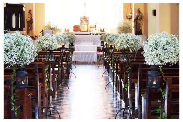 Decoraci n de iglesia estilo romantico for Decoracion estilo romantico