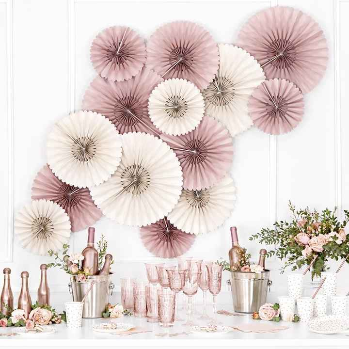 Mes Rosa: Decoración de boda Pinki pinki - 4