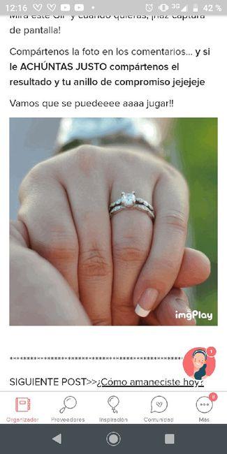 Achúntale al anillo y...¡compártenos el TUYO!💍 10