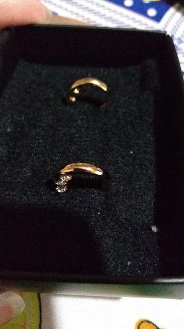 ¿Cuál de los aros eligen para su matrimonio? 1