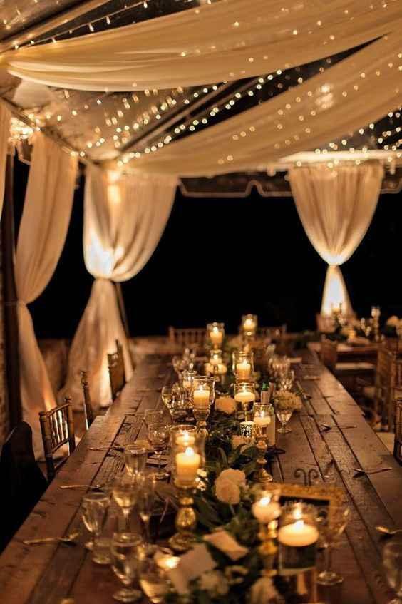 Lucesitas en mi boda!