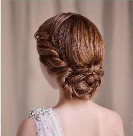 10 peinados para novias con poco cabello - 2