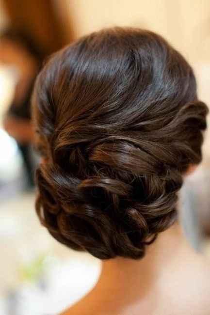 10 peinados para novias con poco cabello - 3