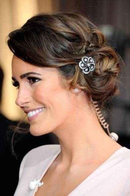 10 peinados para novias con poco cabello - 5
