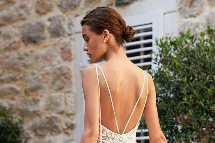 10 peinados para novias con poco cabello - 9
