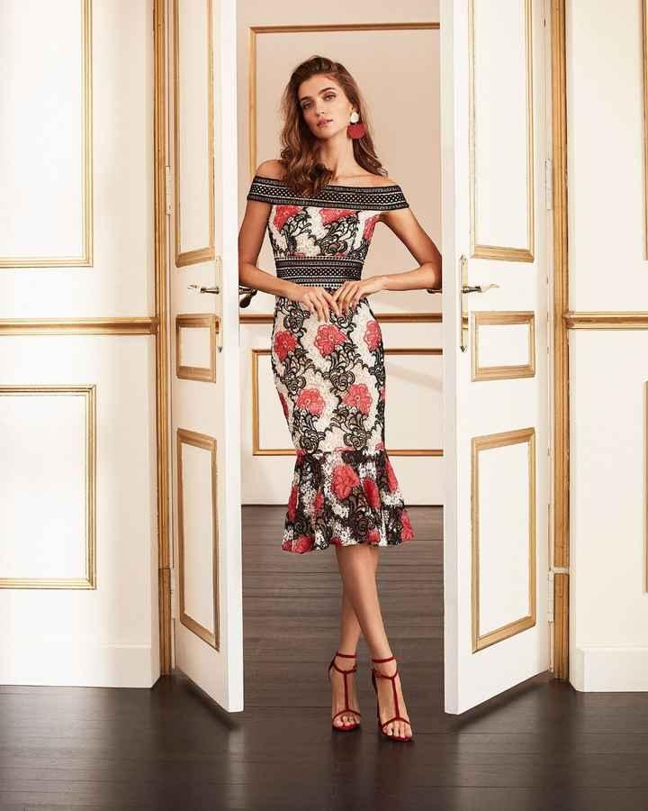 De tarde, ideal un vestido estampado - 13