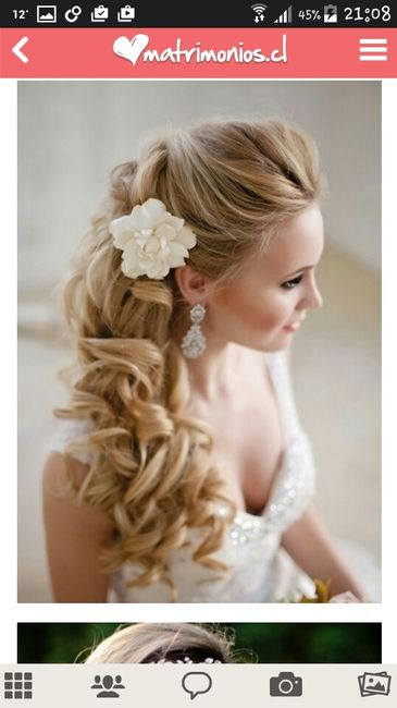 Preséntanos tu peinado de novia - 1