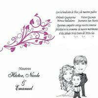 Nombres de los padres en los partes de matrimonio - 1