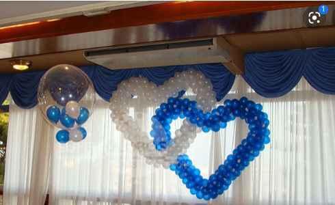 Me gustaría hacer un adorno con globos - 1