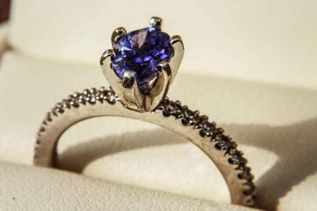 💎💙5 anillos con piedras AZULES: ¿Eliges uno?💎💙 3