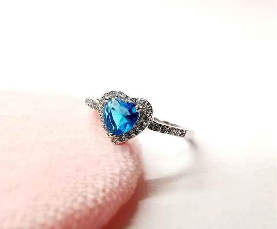 💎💙5 anillos con piedras AZULES: ¿Eliges uno?💎💙 4