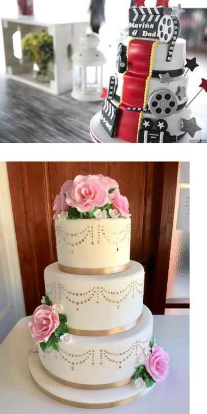 Diseño torta de novios - 4