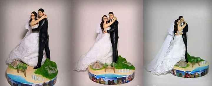 ¿Qué nota le ponen a estos cake topper? - 1