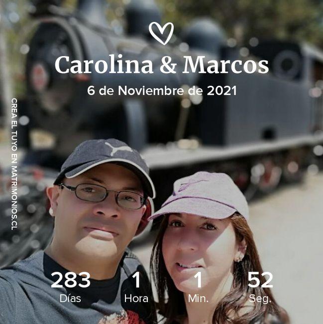 Postergamos nuestro matrimonio civil 2