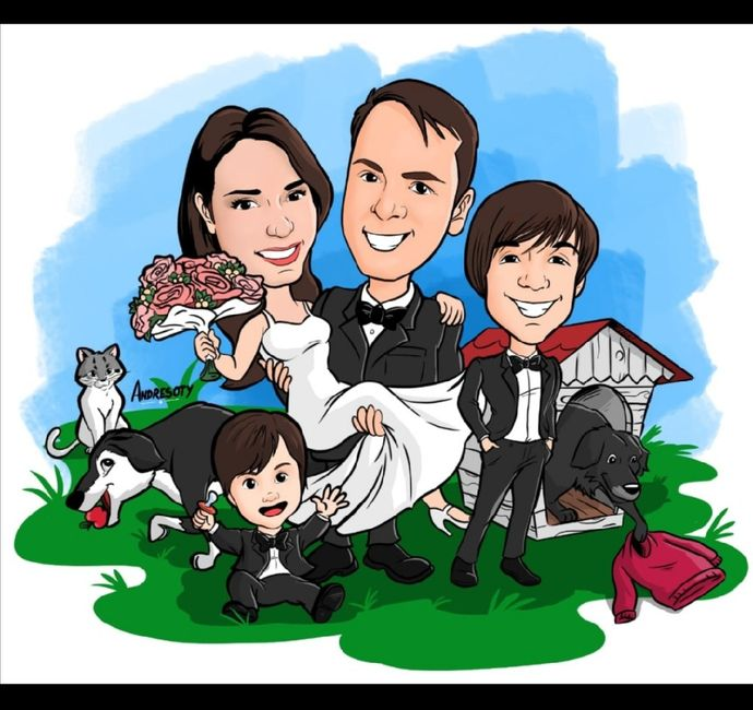 Caricatura familiar 1